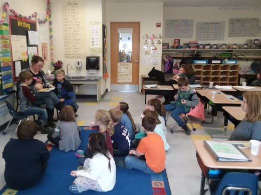 Guest Reader Mrs. Dinsmore